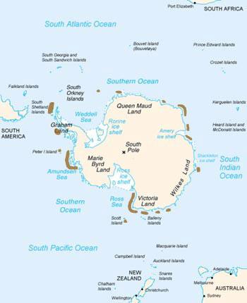 Penguin habitat map - photo#12