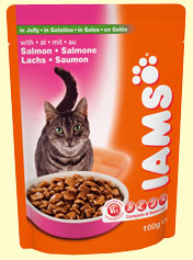 Iams Adult with Salmon in Jelly