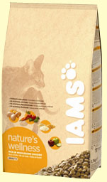 Iams Nature's Wellness rich in Wholesome Chicken