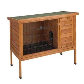 Premium Plus Rabbit Hutch (Large)