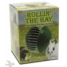 Rollin' the Hay Dispenser