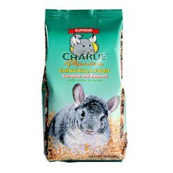Supreme Charlie Chinchilla Food with Carrot & Fruit